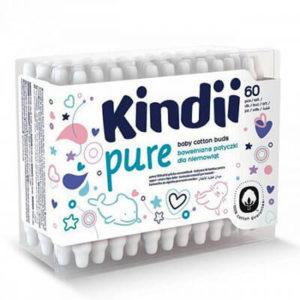 Kindii Baby Gyengéd fültisztító pálcika 60 db