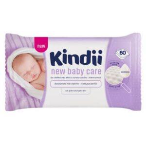 Kindii New Baby Care Ápoló törlőkendő 60 db