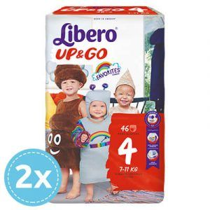 2x Libero Up & Go 4 Bugyipelenka (7-11 kg) 46 db (92 db) favorites