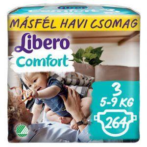 Libero Comfort 3 Nadrágpelenka (5-9 kg) 264 db - Másfél havi csomag