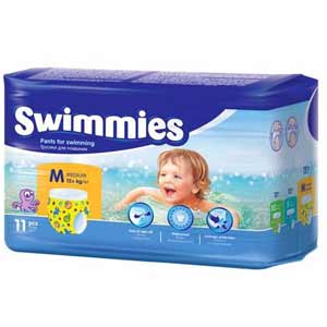 Swimmies Úszópelenka M (12+ kg) 11 db