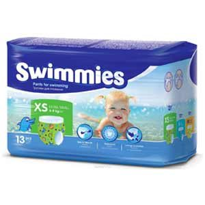 Swimmies Úszópelenka XS (4-9 kg) 13 db