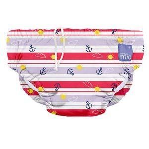 Bambino Mio Textil úszópelenka matrózlány (9-12 kg)