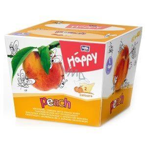 Bella Baby Happy Papírzsebkendő barack illattal (80 db)