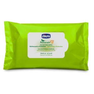 Chicco Szúnyogriasztó törlőkendő 20 db