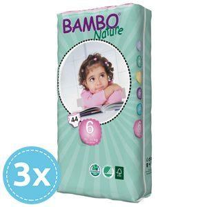 Bambo Nature Öko nadrágpelenka 6 XL (16+ kg) 3x 44 db (132 db)