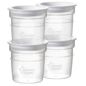 Tommee Tippee Anyatejtároló poharak tetővel 60 ml 4 db_