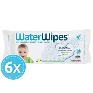 WaterWipes Soapberry 6x