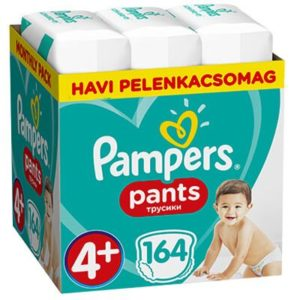Pampers Pants Bugyipelenka 4+ -os méret (9-15 kg) 168 db - Havi pelenkacsomag