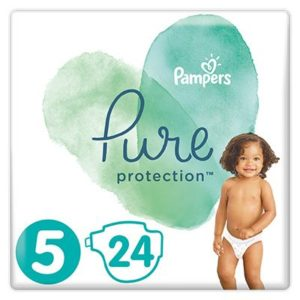 Pampers Pure Protection Nadrágpelenka 5-ös méret (11-16 kg) 24 db