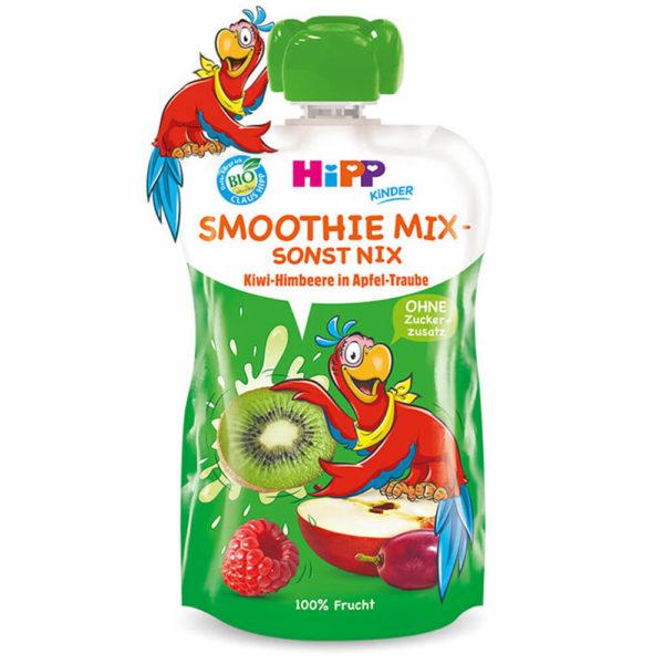 HiPP Smoothie mix Szőlő-kiwi-málna almában 120 ml 12 hó+