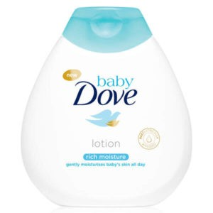 Dove Baby Rich Moisture testápoló babáknak 200 ml