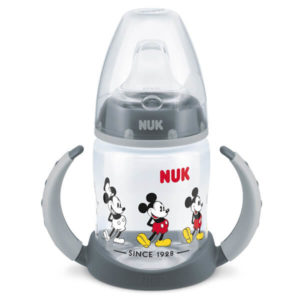 NUK First Choice Disney Tanulópohár 150 ml 6 hó+ (szürke) Mickey