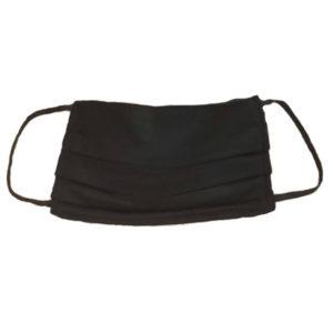 Mosható textil szájmaszk (fekete)