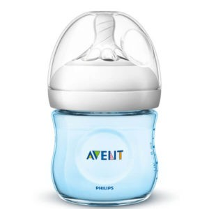 Philips Avent Natural Cumisüveg 125 ml 0 hó+ (kék) SCF032/17
