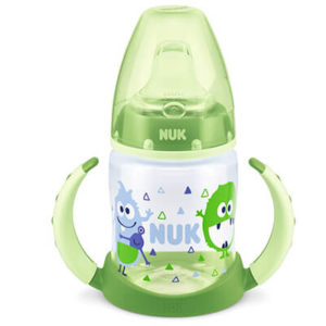 NUK First Choice Tanulópohár 150 ml 6 hó+ (zöld)