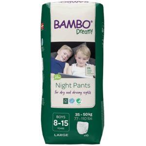 Bambo Dreamy Éjszakai fiú pelenka 35-50 kg 10 db
