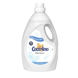Coccolino Sensitive White Flowers öblítő, 2900 ml (116 mosás)