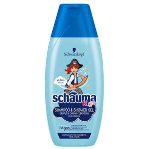 Schauma Kids Sampon és tusfürdő fiúknak 250 ml