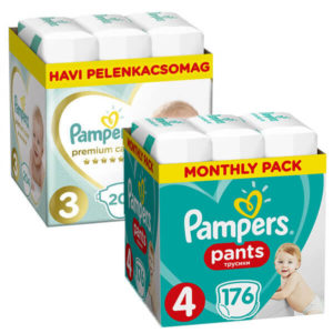Pampers Premium Care es Pants 1+1