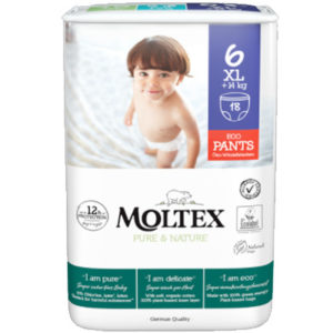 Moltex Pure & Nature Pants Bugyipelenka 6 XL (14 kg+) 18 db