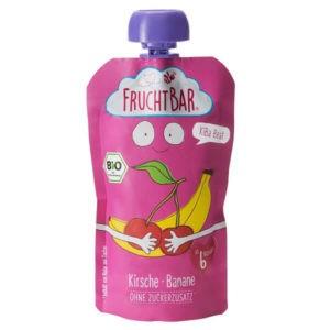 Fruchtbar Bio KiBa Beat cseresznye, banán 120 g 6 hó+