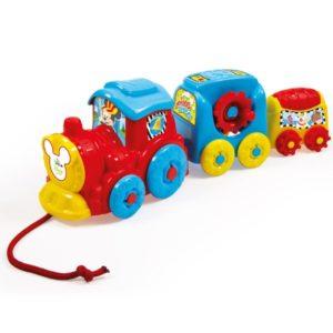 Clementoni Disney Baby Fejlesztő vonat 10 hó+ (17168)